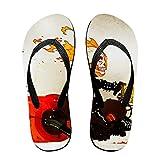 Ghost Rider Men's Beach Flat Rubber Sandals Flip Flops