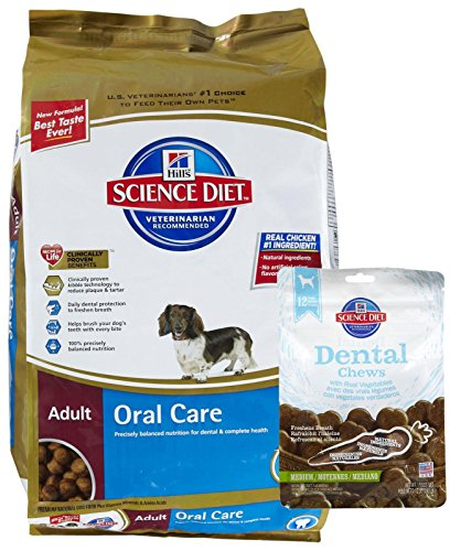 Hill's Science Diet Adult Oral Care Bundle