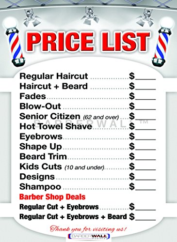 barber poster haircuts men