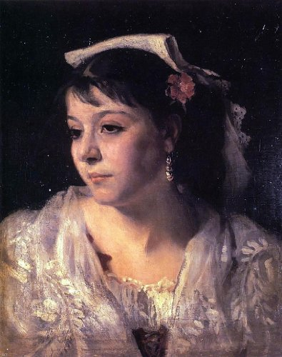 John Singer Sargent Head of an Italian Woman - 20.05