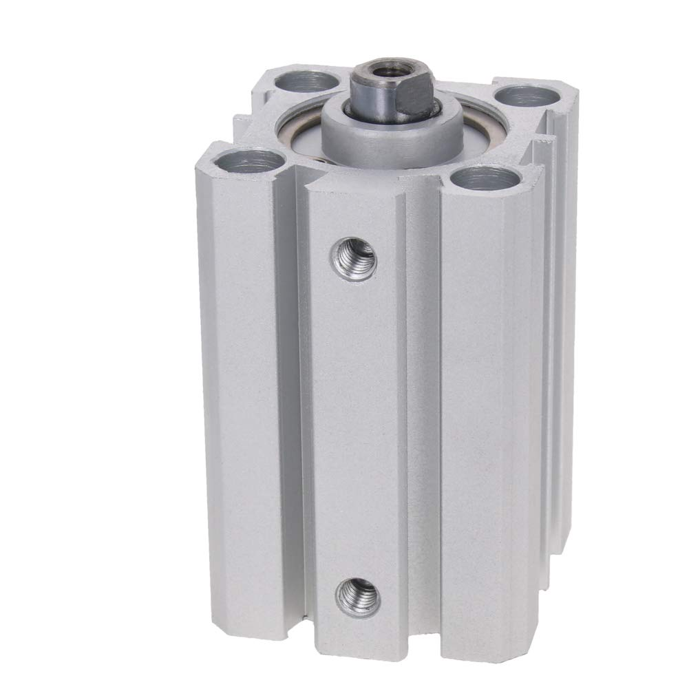 Othmro/Single Rod Double Action Pneumatic Aluminum Alloy Thin Air Cylinder/SDA25 x 5-100
