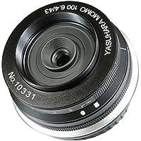 Yasuhara MO100EF 43-43mm f/6.4-22 Fixed Prime MoMo 100 Soft Focus Lens for Canon DSLR, Black