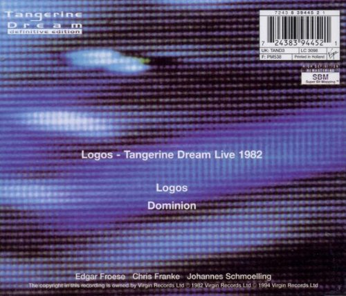 Logos: Live at the Dominion 82 by EMI Europe Generic