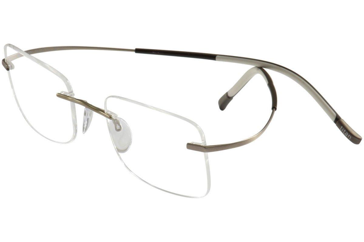 Amazon.com: Silhouette Eyeglasses Titan Minimal Art Icon 7581 6051 ...
