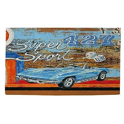 Amazon Com Super Sports Cars Patterned Area Rug Premium Muscle Car