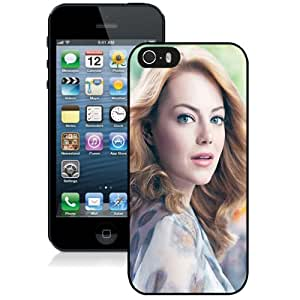 Beautiful Custom Designed Cover Case For iPhone 5s With Emma Stone Long Hair Phone Case Kimberly Kurzendoerfer