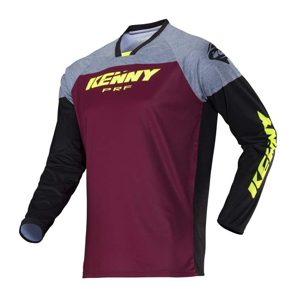 KENNY Performance Motocross Jersey 2018 - Tactical grau violett