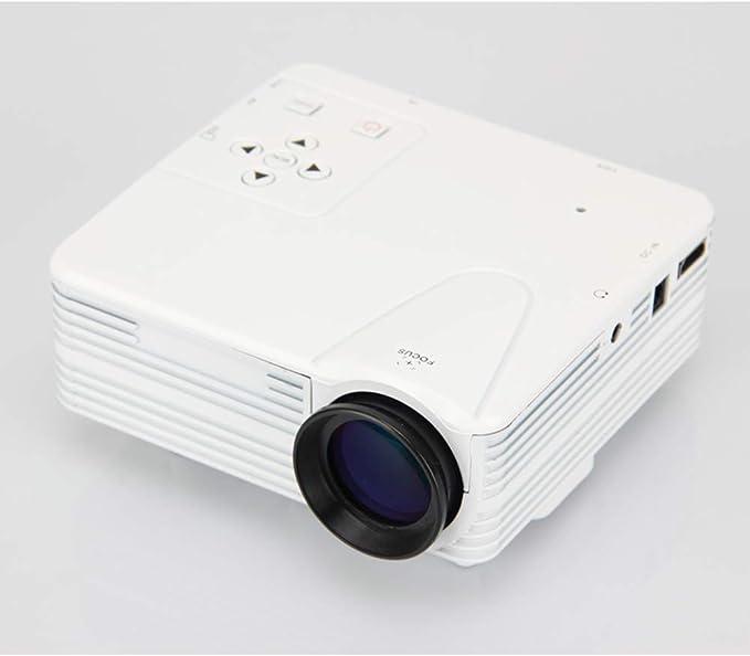 XINLUCK Mini proyector h80 proyector de Video portátil con ...