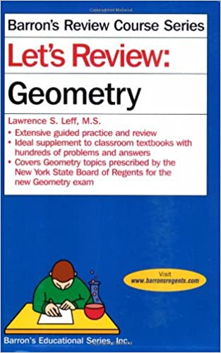 Amazon.com: Let's Review: Geometry (Barron's Review Course ...