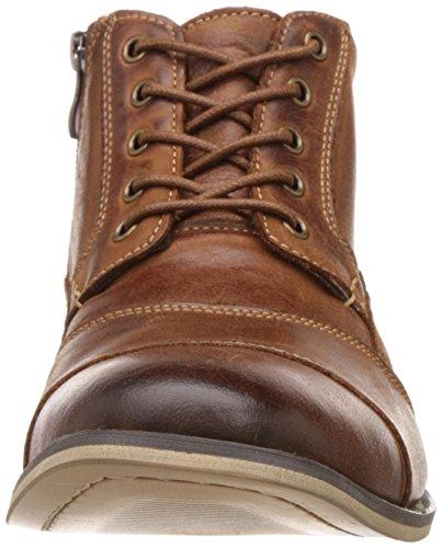Steve Madden Jabbar Ankle Boots Herren Schuhe Braun