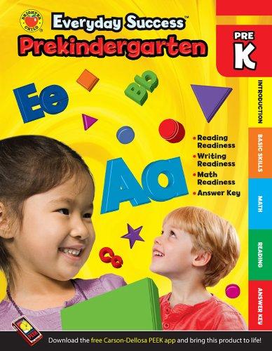 Download Everyday Success™ Prekindergarten Activity Book PDF