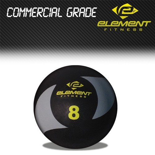 Element Fitness Commercial Medicine Ball 8lbs