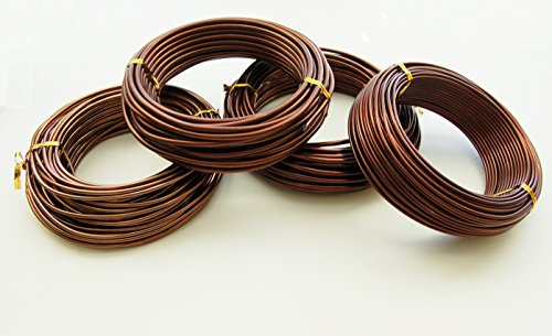 U-nitt Bonsai Tree Training Wires: 250-gram Rolls: 4 Size Combo ()