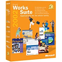 Microsoft Works Suite 2002 [OLD VERSION]