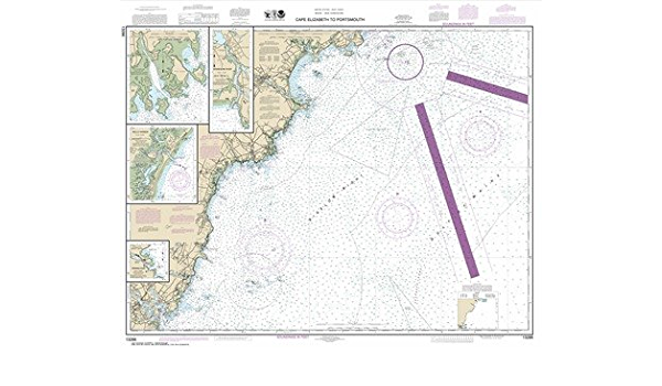 Cape Elizabeth to Portsmouth; Cape Porpoise Harbor; Wells Harbor; Kennebunk River; Perkins Cove Synthetic Media NOAA Chart 13286