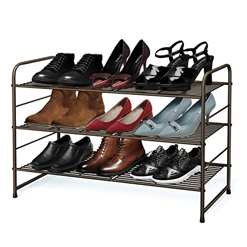 Tier Stackable Shoe Rack - 1