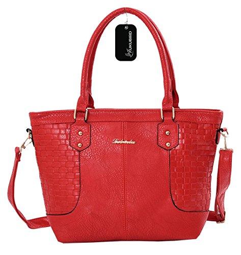 red Casual Bag Tote Katrina Kukubird Sac quotidienne xEYqpI