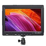 FEELWORLD FW759 7 Inch DSLR Camera Field Monitor HD Video Assist Slim IPS 1280x800 4K HDMI 1080p with Sunshade