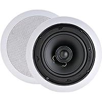 6 1/2 2-Way In-Ceiling Speakers with Swivel Tweeters