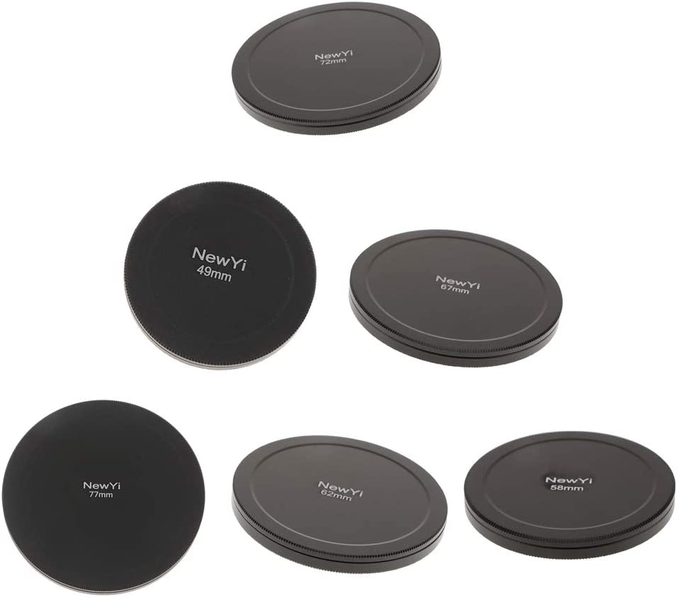 Dustproof Filter Protection Box Camera Lens Filters Storage Cap Case-58mm