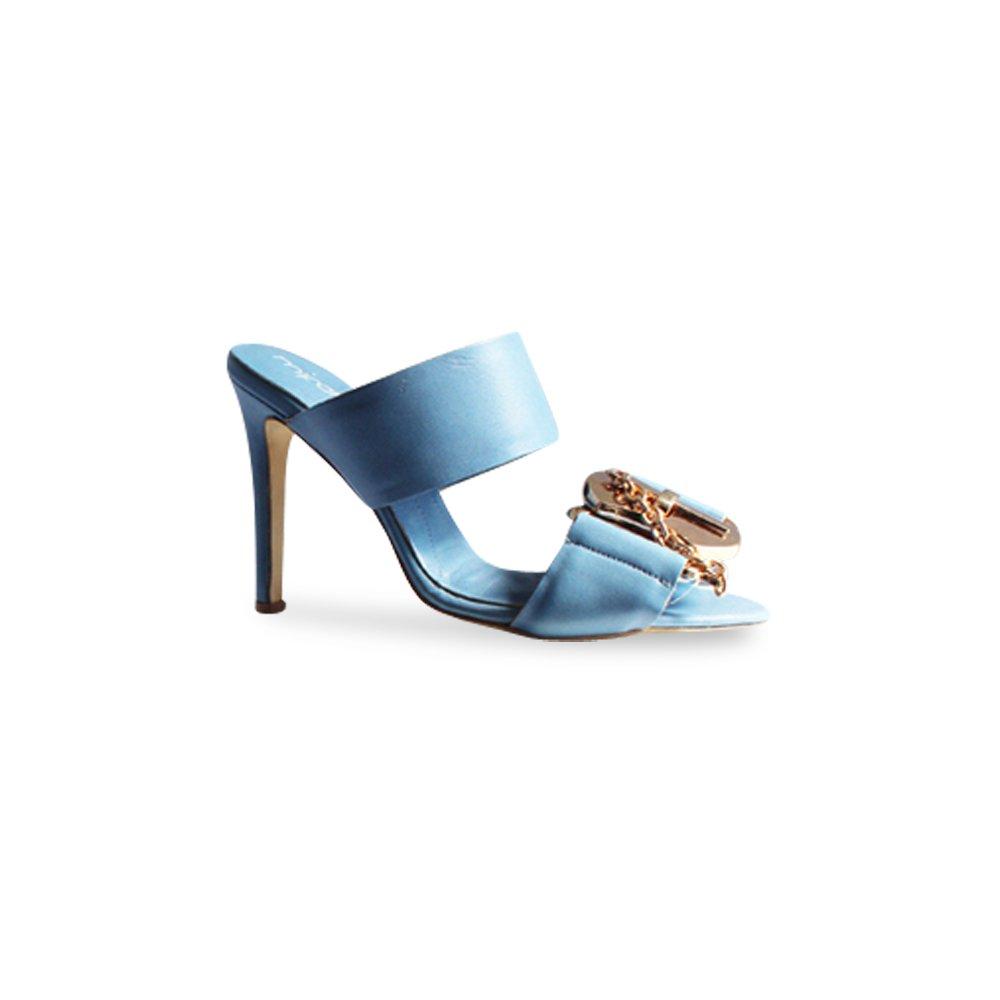 ca3f0afb6eaf Mifani-Dusty Blue Mule  Amazon.co.uk  Shoes   Bags