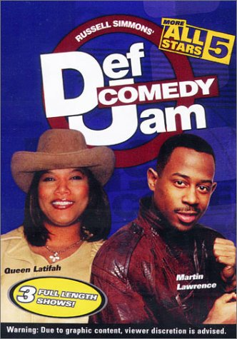 Def Comedy Jam: More All Stars - Volume 5 (Martin Lawrence Comedy Dvd)