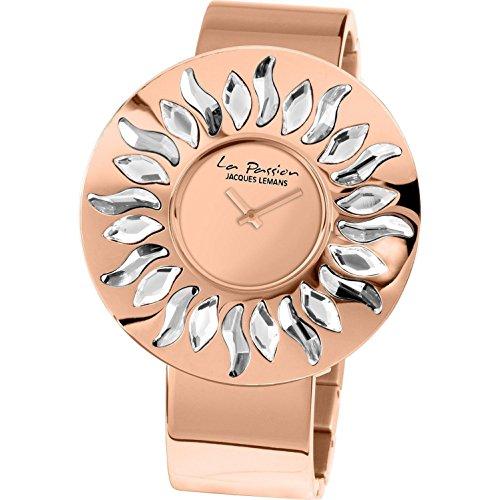 Jacques Lemans La Passion LP-119B Wristwatch for women With Swarovski crystals