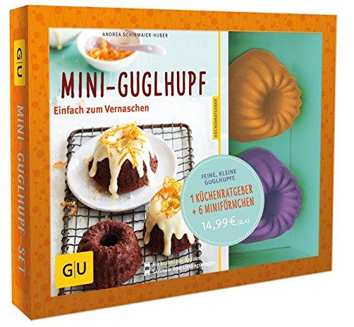 Mini-Guglhupf-Set: Plus Mini-Förmchen (GU BuchPlus) Taschenbuch – 7. September 2013 Andrea Schirmaier-Huber GRÄFE UND UNZER Verlag GmbH 3833836741 Backen