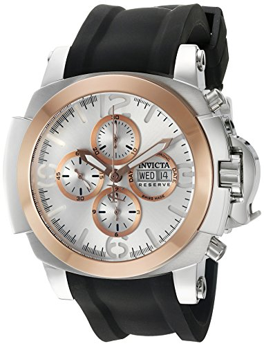 Invicta Men's 'Reserve' Swiss Automatic Stainless Steel Casual Watch (Model: 18705)