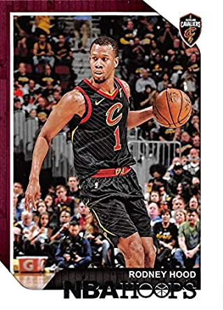 a1226c10 2018-19 NBA Hoops Basketball #122 Rodney Hood Cleveland Cavaliers Official  Trading Card made