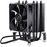 EVGA mITX 92mm, Sleeve, Direct Touch 4 Heat Pipe, Intel Socket 1150/1155/1156 ACX CPU Cooler 100-FS-C901-KR