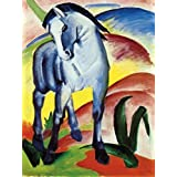 Posters: Franz Marc Poster Art Print - Blue Horse I, 1911 (32 x 24 inches)