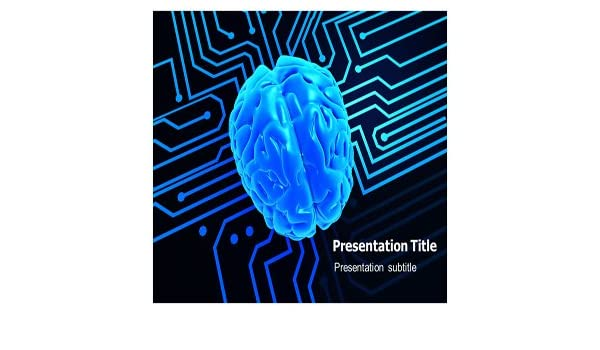 Amazon Artificial Brain Powerpoint Ppt Templates Powerpoint