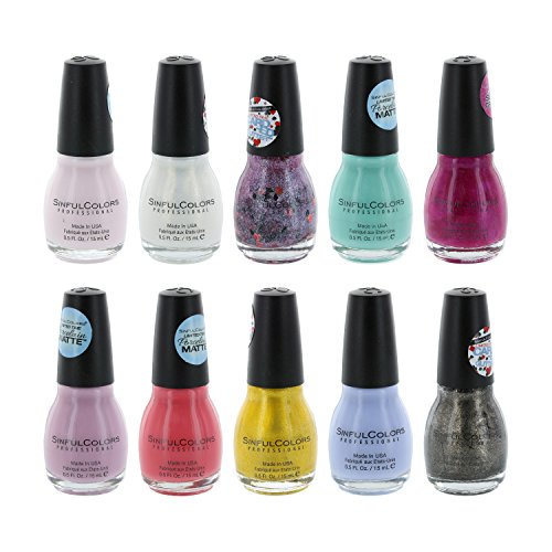 Sinful Colors Lacquer 10 Piece Collection product image