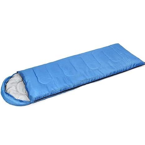 TUWEN Saco Envolvente con Sombrero Verano Ocio Bolsa De Dormir Camping Bolsa De Dormir Saco De