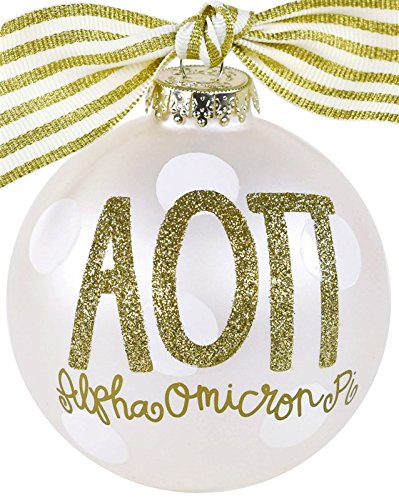 OTS Alpha Omicron Pi Christmas Ornament