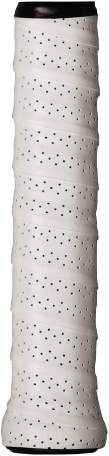 Wilson - Juego de 12 Grips Perforados, Color Blanco: Amazon.es ...