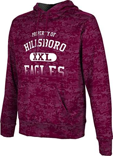 ProSphere Men's Hillsboro High School Digital Hoodie Sweatshirt - 76645 Tx Hillsboro
