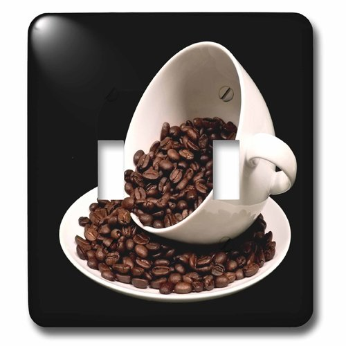 3dRose lsp 213571 2 Photograph Coffee Spilling