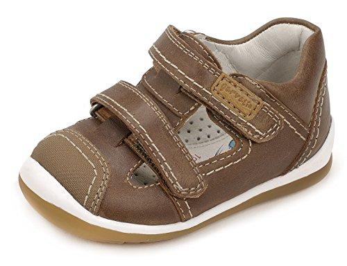 Garvalín 172325, Zapatillas para Bebés Marrón (Cuero /         Galera)