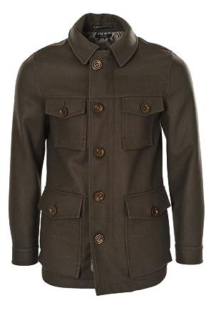 640706903587f1 Tom Ford Manteau Homme Marron Cotton Casual 48  Amazon.fr  Vêtements ...