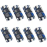 Valefod 8 Pack LM2596 DC to DC High Efficiency Voltage Regulator 3.0-40V to 1.5-35V Buck Converter DIY Power Supply Step Down Module