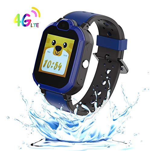 9Tong GPS Tracker Smart Watch Kids Waterproof Games Camera Kids Smart Watches Phone Call Kid GPS Watch Tracker 4G SOS Alarm Clock Pedometer