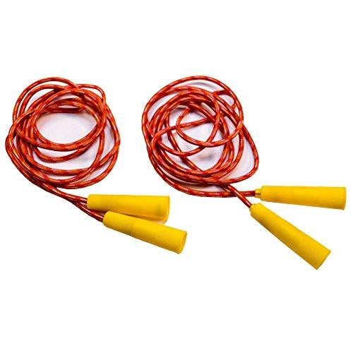 (TukTek Kids First Set of 2 Jump Ropes for Fun & Games Exercise)