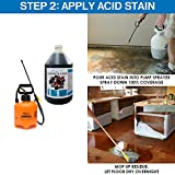 Concrete Acid Stain | Cola 1 Gallon