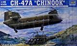 05104 1/35 CH-47A Chinook Transport Heli Vietnam 1970 by Trumpeter