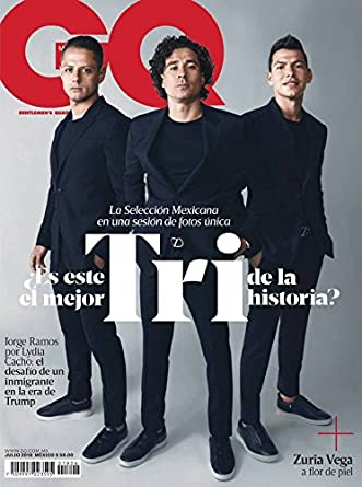 GQ Mexico July 1, 2018 issue