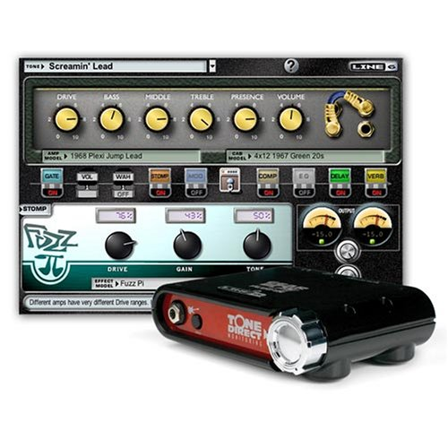 [DISCONTINUED] Line 6 GearBox Silver Bundle with Toneport D.I. USB Recording Interface