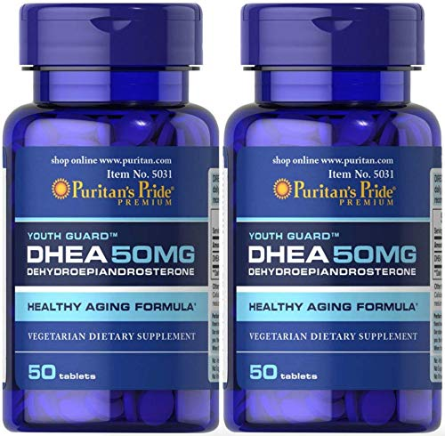 Puritans Pride DHEA 50MG 2 Pack