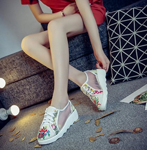 Para Mujer Lazutom Lazutom Mujer Blanco Para Blanco Zapatillas Zapatillas qxZRfZw4St